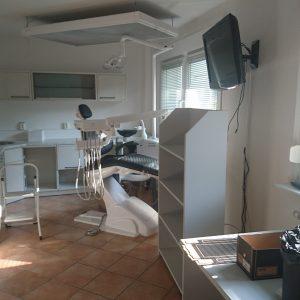 Renovierung der Behandlungsräume - Altgerät